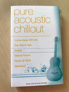 Pure accoustic chillout kaset pita