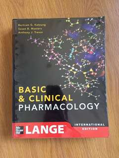 Katzung Basic and Clinical Pharmacology