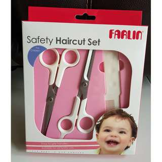 Farlin Safety Haircut Set for Children