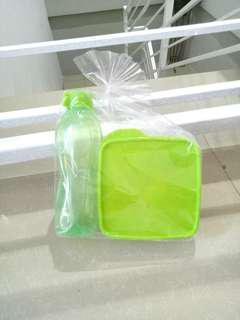 Set tempat makan plastik