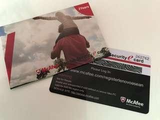 McAfee Internet Security eCard