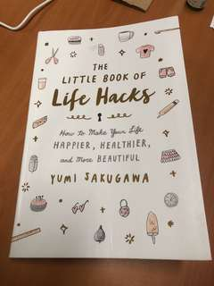 The Little Book of Life Hacks by Yuki Sakugawa