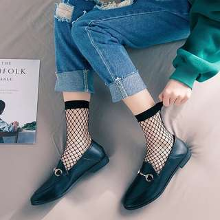 [Ready Stock]Short Fishnet Socks