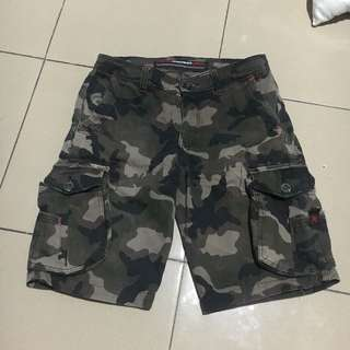 Camo pants / short pants / cargo pants / loreng