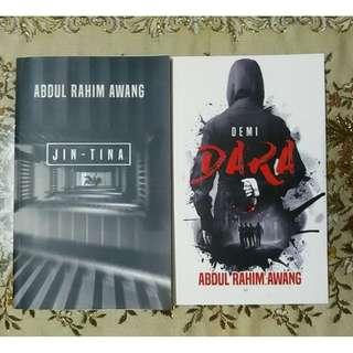 Novel Jin-Tina - Abdul Rahim Awang