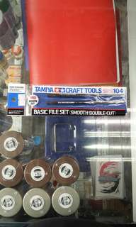 Tamiya Basic File Set Smooth Double Cut