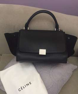 Céline Trapeze medium black