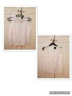 Plains and Prints blouse!!!