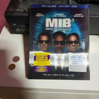 MIB 3 2D/3D Blu Ray
