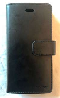 Black Goospery iPhone 6 case with 9 card slots