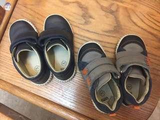 🚚 UMI幼童鞋24號兩雙8成新