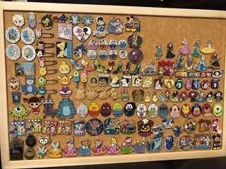 Disney pin trading 迪士尼 徽章交換 公主