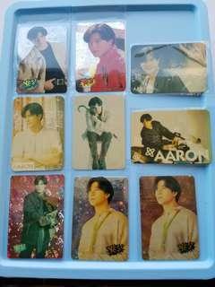 70張 郭富城 Aaron 特別yes卡 閃卡 90年代 歌手 yes card