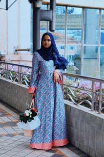 Anggun Batik Dress