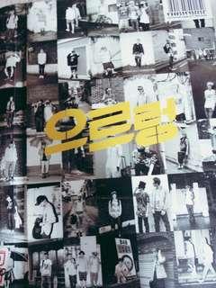 EXO the 1st album xoxo repackaged KOR