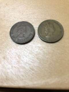 Hong Kong Vintage Coin