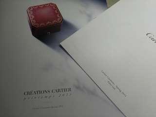 Cartier 2015 卡地亞2015年目錄