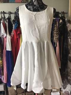 Women white Dress