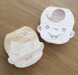 BABY UMBILICAL AND TEETH ORGANIZER