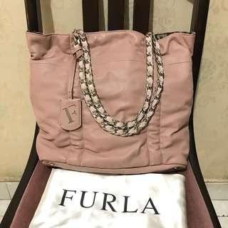 Authentic FURLA shoulder bag // Longchamp tory burch michael kors kate spade coach fossil