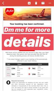Roundtrip Tickets for 2 all-in (Clark - Tacloban)