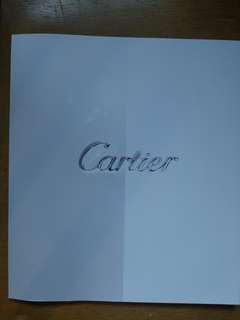Cartier 2017 卡地亞2017年 目錄