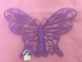🈹金屬蝴蝶型掛首飾架-座枱型