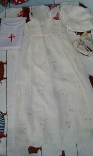 Baptismal Long Gown & Shoes
