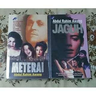 Novel Jaguh & Meterai - Abdul Rahim Awang