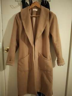 Size small 'paint it red' coat