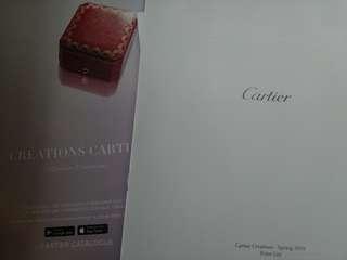 卡地亞 2016年  春天Cartier 2016 spring catalogue  目錄