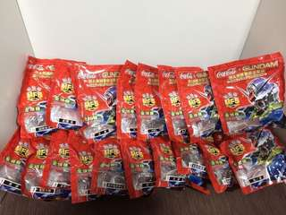 Coca Cola Gundam (全18)連儲存盒