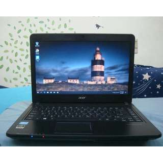 ACER 宏碁14吋 Travel Mate i5 3210m 商務筆電 Business Laptop