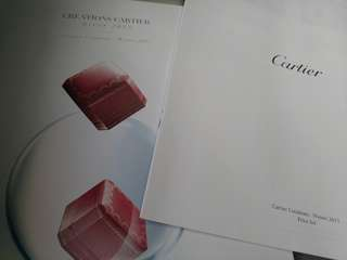 卡地亞  Cartier 2015 winter catalogue 2015 冬季產品目錄