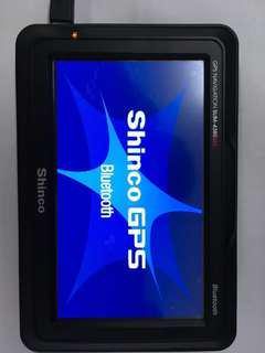 GPS 4.3 inches with Bluetooth and well working condition