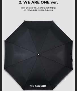 🚚 EXO 雨傘 官方正版 WE ARE ONE款