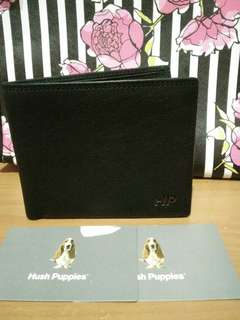 Original hush puppies wallet black