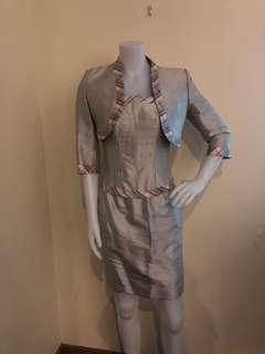Rajo Laurel Custom-made Classic Skirt, Corset and Jacket Set