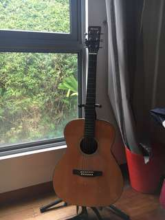 Cheap Acoustic Steel-String Guitar