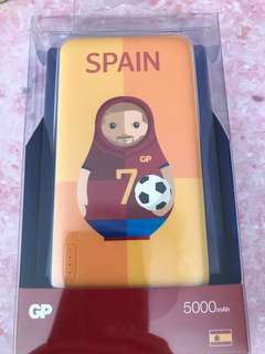 GP 外置充電器(世界杯西班牙款式)