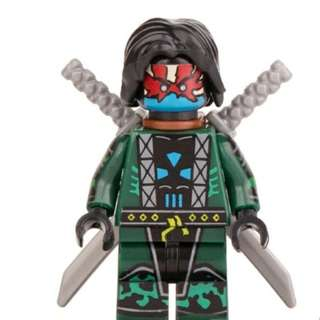 兼容LEGO樂高積木 第三方 忍者