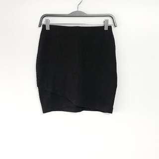 H&M Overlap Bodycon Skirt
