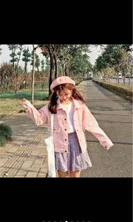 🚚 粉色外套