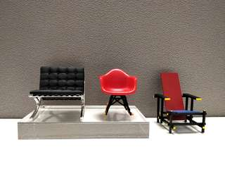Design Chair Miniatures (Set of 3)