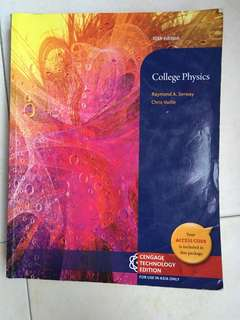 College Physics 10th Edition - Raymond A. Serway / Chris Vuille