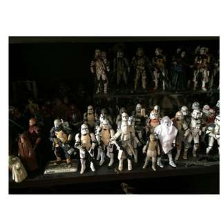 Star Wars Assorted Clone Storm Troopers and Jedis
