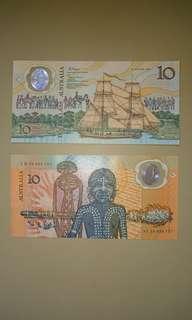 澳洲塑料紀念鈔