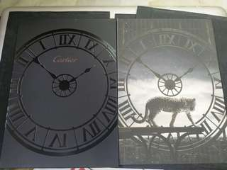 Cartier 卡地亞手錶2014年邀請卡 watch 2014 invitation card
