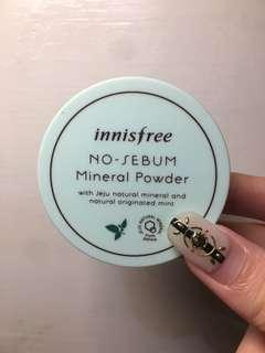 Innisfree 薄荷礦物控油蜜粉