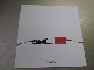 Cartier 卡地亞卡 空白 blank card